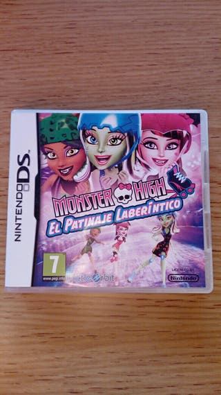 Juego nintendo ds. monster high