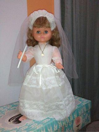 Muñeca comunión Josmar años 70