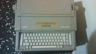 olivetti máquina de escribir