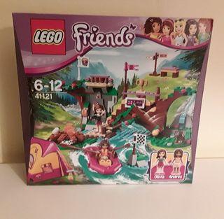 lego friends 41121 campamento /nuevo/