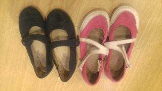 Lote zapatillas niña parisinas número 31 y 32