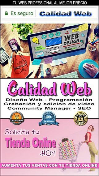 diseño grafico web y posicionsmiento SEO