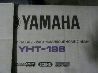 Home cinema Yamaha YHT 196