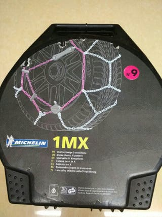 cadenas rueda de coche Michelin 1 Mx