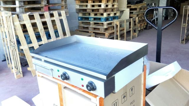 planchas de asar profesionales electricas nuevas