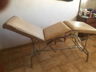 Camilla de depilacion y masaje