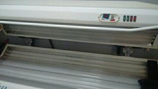 solarium horizontal 24 tubos con facial
