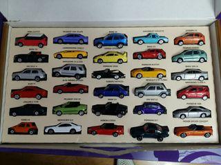 colección 30 coches metálicos