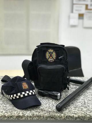Resume material policia local