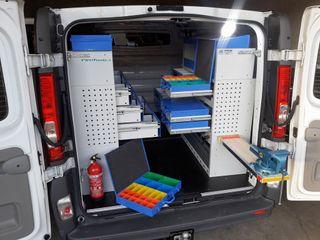 Muebles taller furgoneta