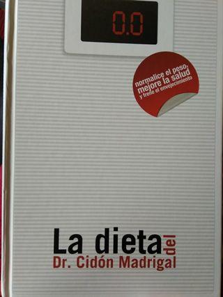 libro la dieta del doctor cidon madrigal