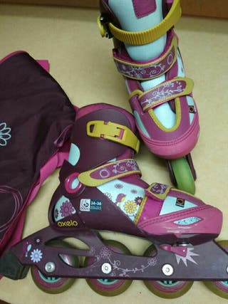 Patines infantiles talla 34-36