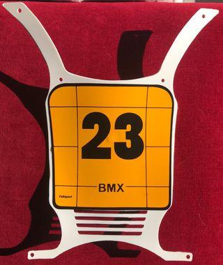 Porta números BMX o TRIALSIN