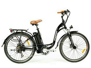 "Bicicleta eléctrica 26"" Shimano 7V bat.Litio 16Ah"