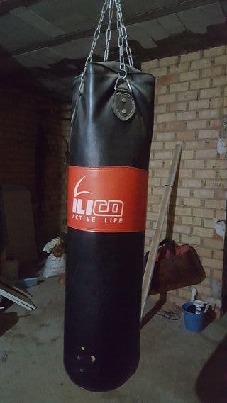 saco boxeo más guantes