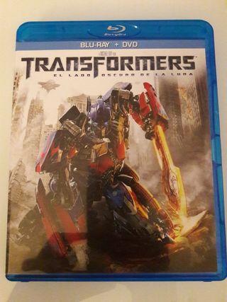 Transformers el lado oscuro de la luna en bluray