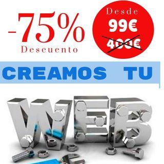 Pagina web, Diseño web, Tienda online