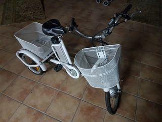 Triciclo bicicleta electrico 3 ruedas