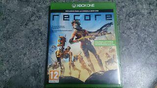 RECORE juego exclusivo para Xbox One como nuevo