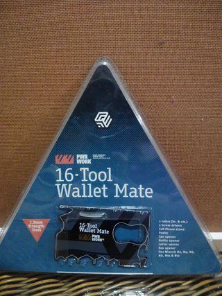 Tarjeta mini caja de herramientas