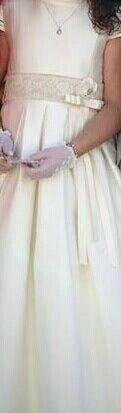 Vestido comunion niña