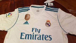 Camiseta Real Madrid oficial a estrenar!!