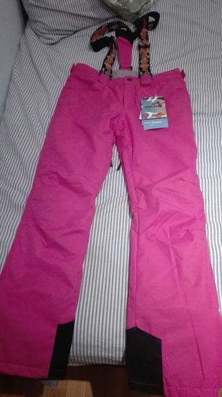 Pantalones esquí mujer