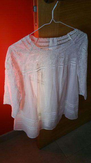 blusa bordada Purificación Garcia