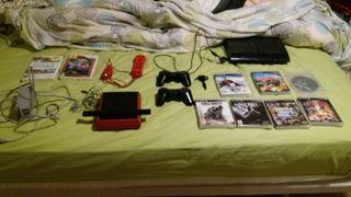 Consola playstation 3 y wii mini