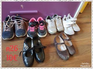 zapatos y zapatillas niña