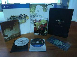Final Fantasy Type 0 HD Edición Coleccionista Ps4