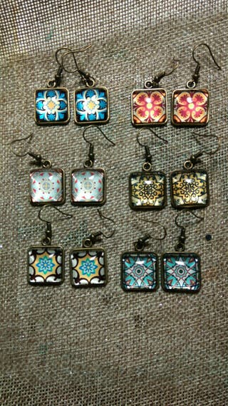 Pendientes de azulejos Hidraúlicos