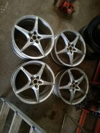"""llantas 18"""" Opel 5 tornillos"""