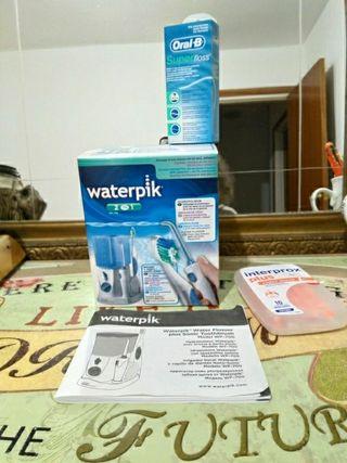 waterpik 2 en 1. cepillo electrico y agua presion