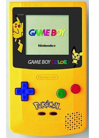 Game Boy color Pikachu edition