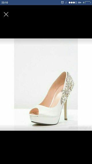 zapatos de novia de segunda mano en logroño en wallapop