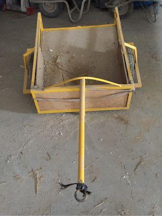 Carretillo de dos ruedas