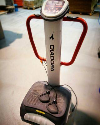 plataforma vibradora Diadora génesis D6