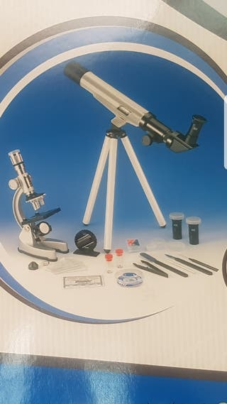 Set Microscopio y Telescopio