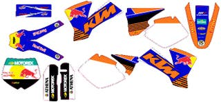 Kit pegatinas KTM 2003