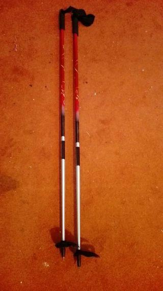 Bastones esquí travesia