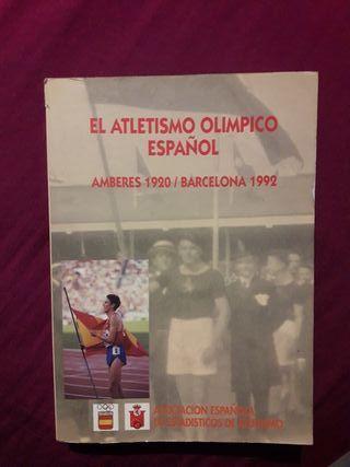 El atletismo olímpico español AMBERES1920-BCN 1992
