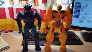 figuras 30cm transformers