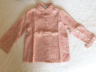Camisa niña flores