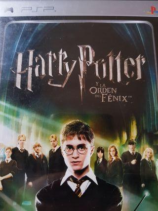 """Harry Potter y la Orden del Fenix PSP """"Retro"""""""