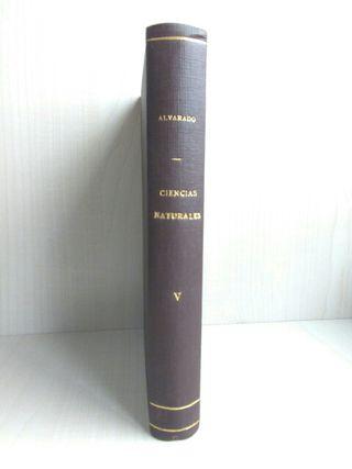 Libro Ciencias Naturales V. Salustio Alvarado.