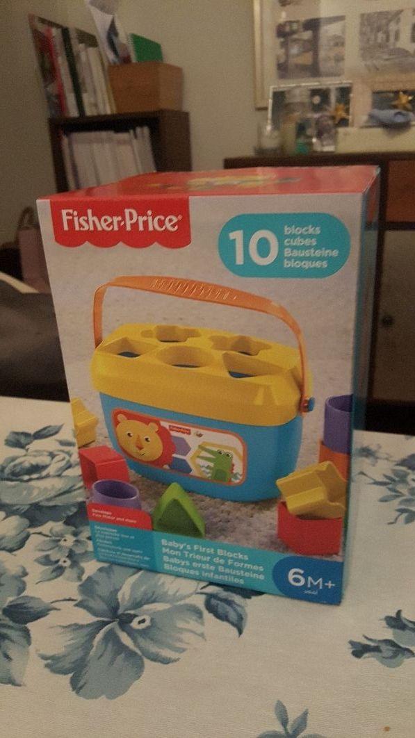 Bloques infantiles Fisher Price. NUEVO