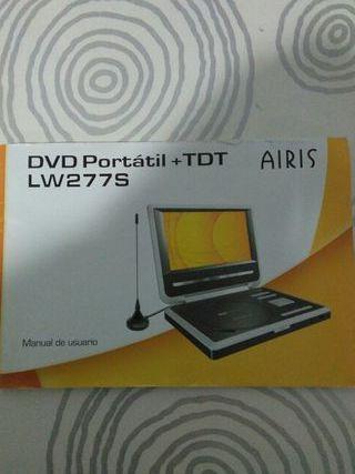 DVD PORTATIL CON TDT .