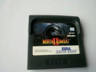Mortal kombat 2 sega game gear