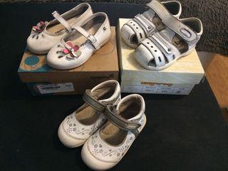 Zapatos niña 20 21 y 22. €6 los 3